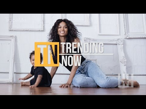 Ciara FINALLY Debuts 10-Month-Old Baby, Sienna Princess - Trending Now