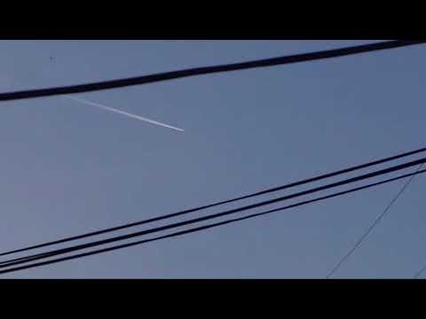 UFO Intercept? More Strange Activity Still Happening Over California! 1/1/18