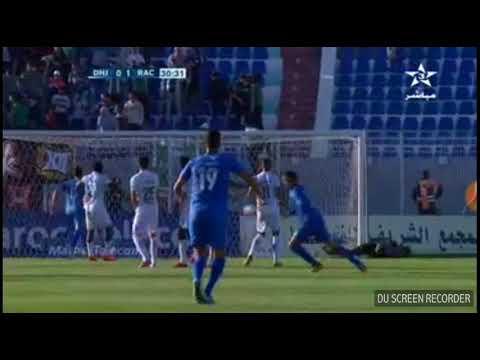 أهداف مبارة الدفاع الحسني الجديدي أمام الرسينغ البيضاوي