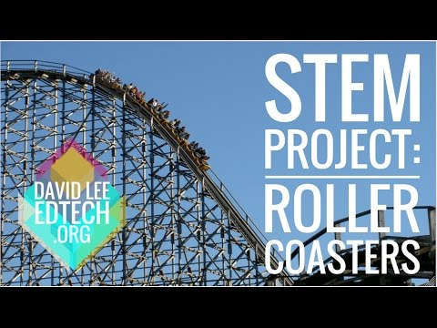 STEM Activity for 1st Grade: Roller Coasters