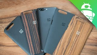 These are the official OnePlus 5 cases