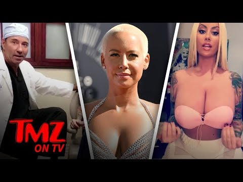 Say Bye To Amber Rose's Big Breast!   TMZ TV