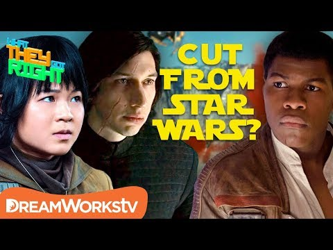 Which Character Was Almost CUT From Star Wars The Last Jedi?? | WHAT THEY GOT RIGHT
