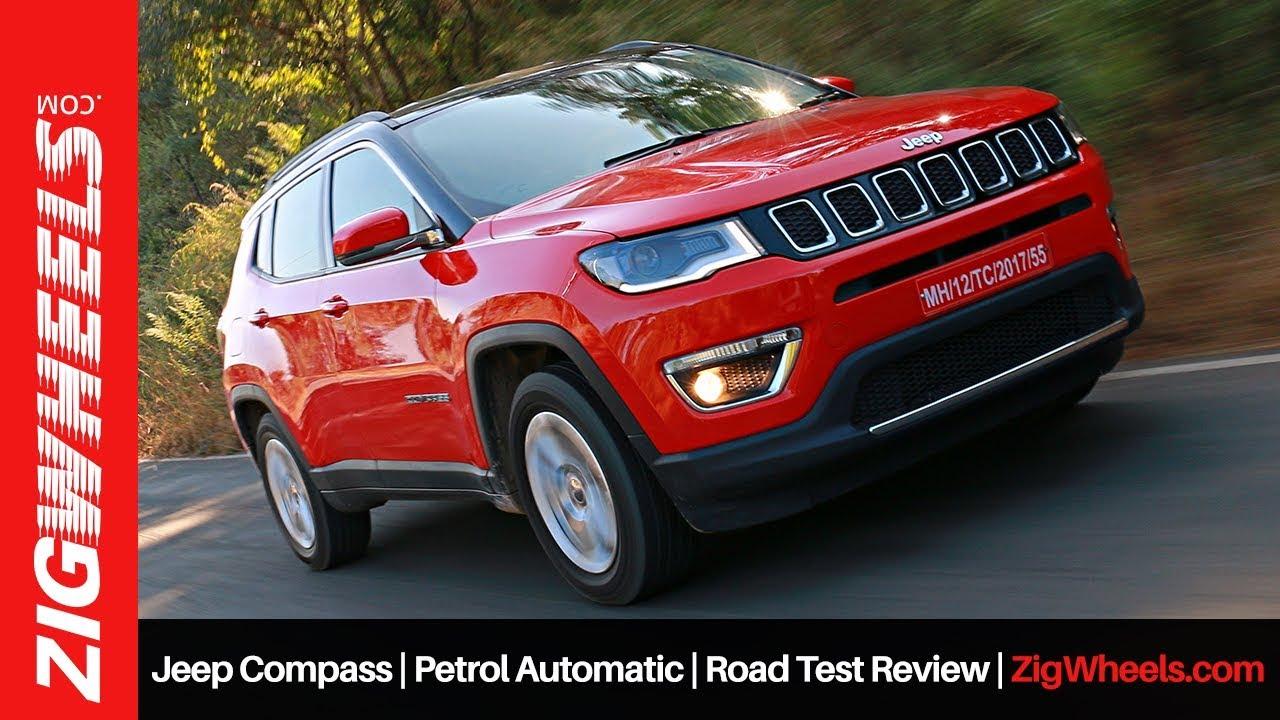 Jeep Compass | Petrol Automatic | Road Test Review | ZigWheels.com