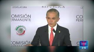 Miguel Ángel Mancera responde a petición de desafuero tras accidente en la Línea 12   Yuriria Sierra