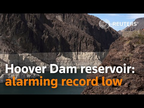 Hoover Dam reservoir hits alarming record low