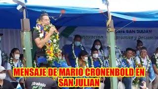MARIO CRONENBOLD HOY LA DER3CHA ESTÁ N3RVIOSO POR QUE SABE QUE VAMOS GANAR LA GOBERNACIÓN-SANTA CRUZ