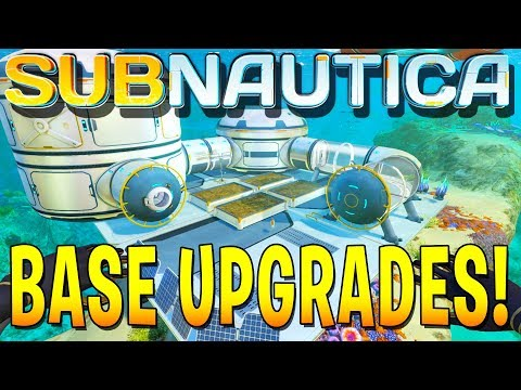 *EPIC* BASE UPGRADES + CUDDLEFISH (Subnautica Full Release Gameplay)