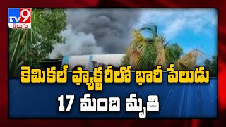 17 Dead in fire at Pune sanitiser firm, Rescuers search for missing staff - TV9 - TV9