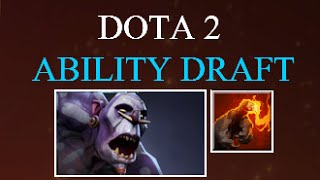 Dota 2 Ability Draft Witch Doctor Gameplay Commentary