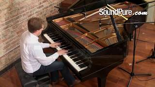 How to Record Grand Piano - Cardioid vs. Omni Microphon
