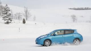 Nissan LEAF Wintry Test