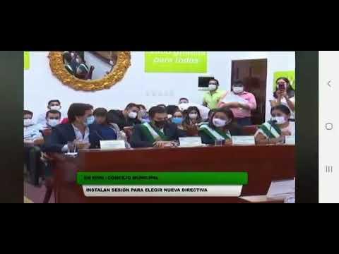 sesión de Concejo Cruceñocejal Manuel Saavedra (Demócratas) denuncia que acuerdo de los gobernantes