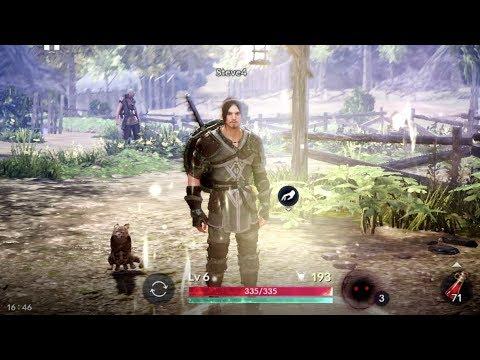 Black Desert Mobile Android GamePlay #4 [High Settings] (KR)