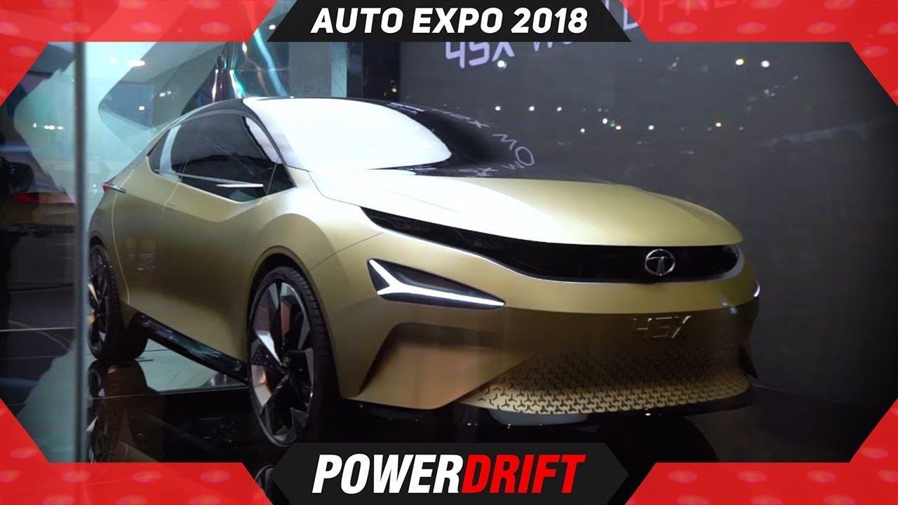 Tata 45X @ Auto Expo 2018 : PowerDrift