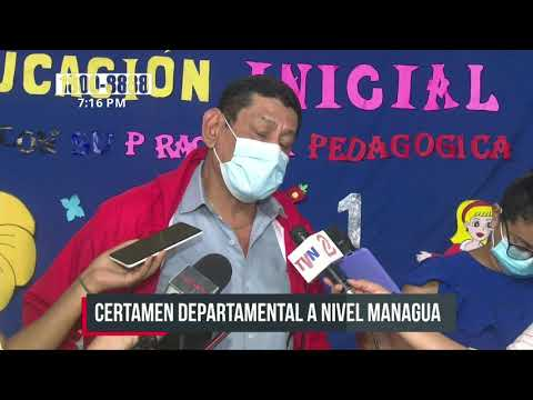 Eligen a la mejor docente de preescolar del departamento de Managua - Nicaragua