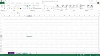 Microsoft Excel 2013 Tutorial - 7 - Worksheet Tips