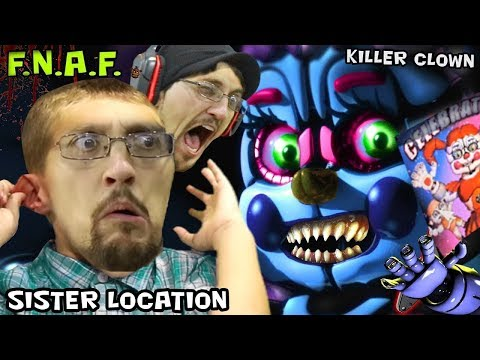 connectYoutube - FGTEEV JUMP SCARED! FIVE NIGHTS AT FREDDY'S 5 SISTER LOCATION #1 (FGTEEV Re-Upload Gameplay)