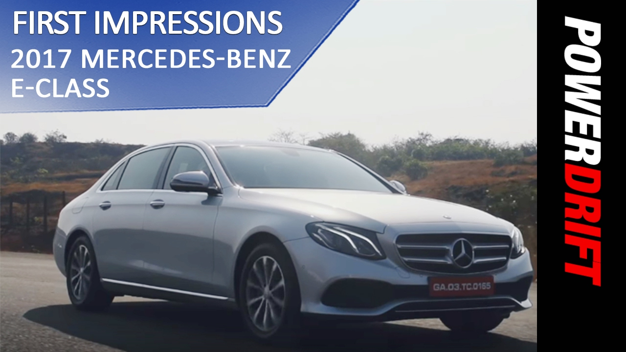 Mercedes Benz E-Class (2017) : Whats new? : PowerDrift