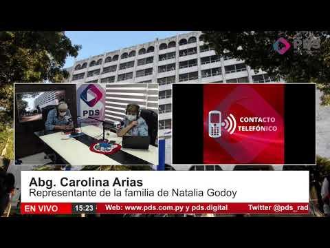 Entrevista- Abg. Carolina Arias- Representante de la familia de Natalia Godoy