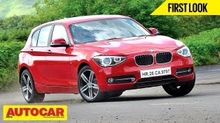 BMW 1 Series India Road Test and a Chat With Sachin Tendulkar | First Drive
