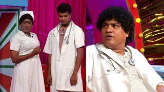Jabardasth Avinash,Raising Raju Performance - Mukku Dada M.B.B.S Hilarious Skit - Kiraak Comedy Show - MALLEMALATV