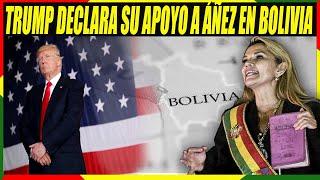 Donald Trump Declara Su Apoyo a Presidenta Interina de Bolivia