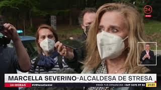 Desplome de teleférico en Italia deja 14 fallecidos y un niño de cinco años herido de gravedad