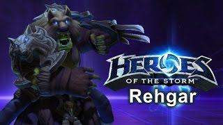 Heroes of the Storm - Rehgar (Gameplay)