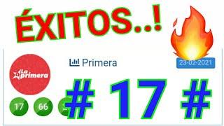 RESULTADOS de HOY....!! ((( 17 ))) BINGO HOY / SORTEOS loteria LA PRIMERA/ UN SÓLO NÚMERO PARA HOY