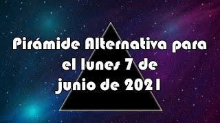 Lotería de Panamá - Pirámide Alternativa para el lunes 7 de junio de 2021