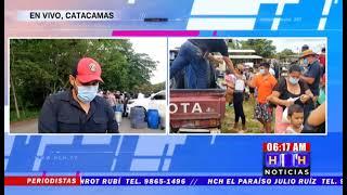 ¡Protesta! Productores de leche en Olancho no entregarán producto a procesadoras exigen precio justo