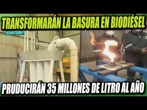 En El Alto transformarán la Basura en Biodiésel - Producirán 35 Millones de Litros al año