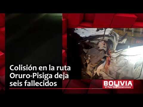 FATAL ACCIDENTE: 6 MUERTOS ORURO