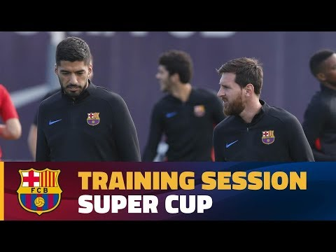 Training focus switches to Super Cup