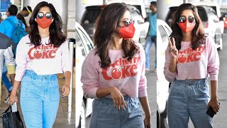 EXCLUSIVE VIDEO: Actress Nabha Natesh Spotted At Hyderabad | Tollywood - TFPC