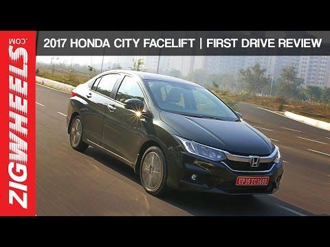 2017 Honda City Facelift | First Drive Review | ZigWheels