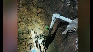 Hombre construye túnel para robar gasolina