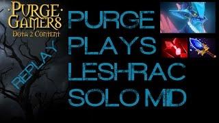 Dota 2 Purge plays Leshrac