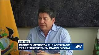Fiscalía inicia investigación previa por asesinato de Patricio Mendoza