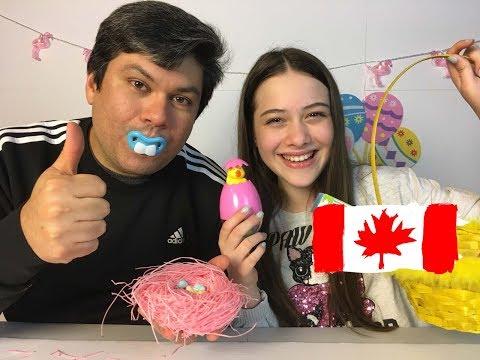 connectYoutube - EXPERIMENTANDO DOCES  DE PÁSCOA CANADENSES
