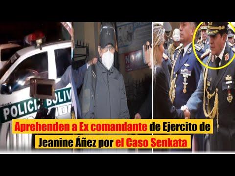 Aprehenden a excomandante de Ejército General Ivan Inchauste por el caso Senkata | Bolivia