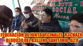 BLOQU3O AL RELL3NO SANIT4RIO DE LA CIUDAD DEL ALTO ES CON FIN3S POLÍTICOS...