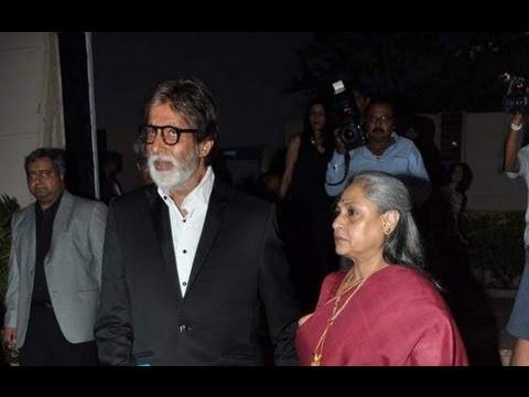 Amitabh And Jaya At The Success Bash Of 'Shiva Trilogy'