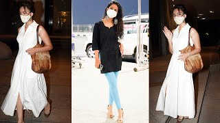 Avika Gor and Sirat Kapoor Spotted At Airport | Telugu Actress Airport Videos | TFPC - TFPC