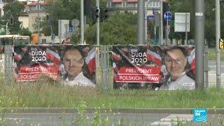 Présidentielle en Pologne : deux candidats au coude à coude