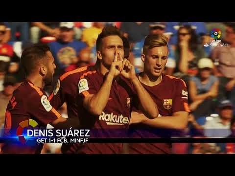 Extended Highlights: Getafe CF vs FC Barcelona (1-2)