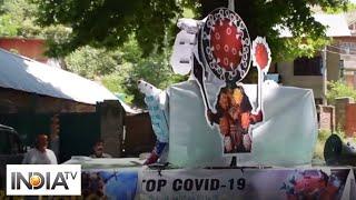JandK Police launches 'Corona Rath' in Pulwama to create awareness - INDIATV