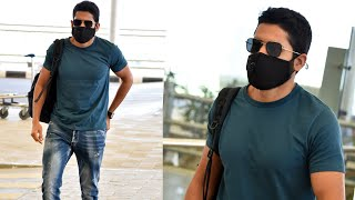 Naga Chaitanya Exclusive Visuals @ Hyderabad Airport | Celebrities Airport Videos | TFPC - TFPC