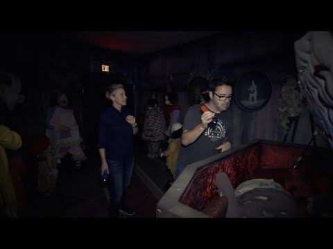 Ellen & Andy Visit the 'IT' Haunted House